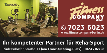 pr vention fitness reha sport berlin friedrichshain wegweiser aktuell. Black Bedroom Furniture Sets. Home Design Ideas