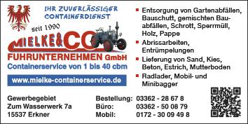 Container Berlin Kaulsdorf Wegweiser Aktuell