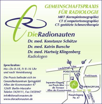 Radiologie Berlin Fennpfuhl Wegweiser Aktuell
