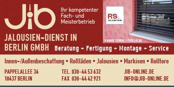 Jalousien In Berlin sonnenschutz jalousien markisen rollläden rollos plissee und