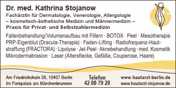 dr med kathrina stojanow praxis f r privat und 10407 berlin prenzlauer berg wegweiser aktuell. Black Bedroom Furniture Sets. Home Design Ideas