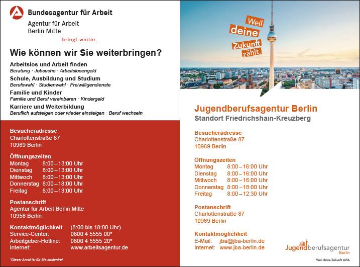 Agentur Fur Arbeit Berlin Kreuzberg Wegweiser Aktuell
