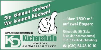 Küchenstudio Berlin Tempelhof küchen berlin tempelhof wegweiser aktuell