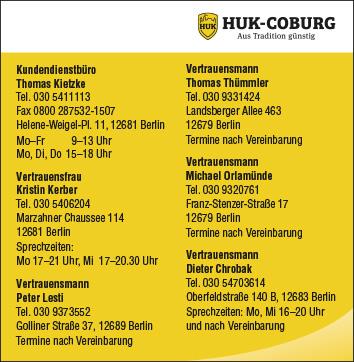 huk coburg versicherungen vertrauensmann dieter 12683. Black Bedroom Furniture Sets. Home Design Ideas