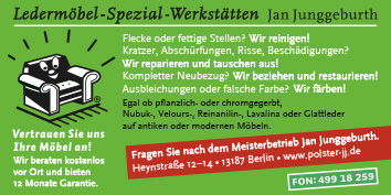 Polsterei Berlin Pankow polstereien und lederreparatur berlin pankow wegweiser aktuell