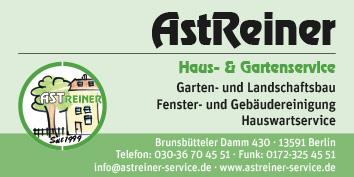Astreiner Haus- und Gartenservice 13591 Berlin Spandau Staaken ...