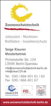 Jalousien Pichelsdorfer Stra E Reinigung Von