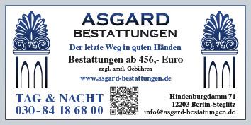 9b597311b73d05 Bestattungen Berlin Steglitz - WEGWEISER aktuell