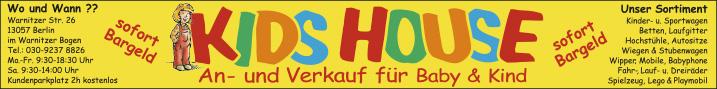 kids house an und verkauf f r baby und kind 13057 berlin hohensch nhausen wartenberg. Black Bedroom Furniture Sets. Home Design Ideas
