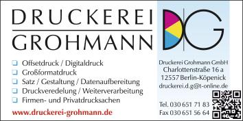 Offsetdruck Digitaldruck Buchdruck In Berlin Köpenick