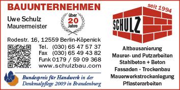 Bauunternehmen Berlin Brandenburg bauhauptarbeiten und bauausführung berlin köpenick wegweiser aktuell
