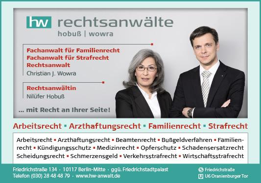 Rechtsanwälte Notare Patentanwälte Berlin Mitte Wegweiser Aktuell
