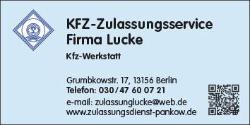 kfz werkstatt joachim lucke 13156 berlin pankow. Black Bedroom Furniture Sets. Home Design Ideas