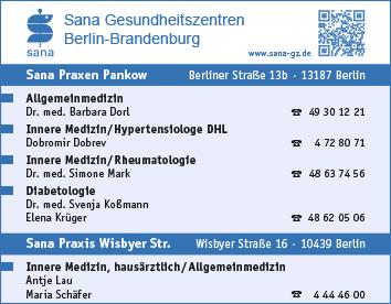 Haus Rzte Berlin Pankow Wegweiser Aktuell