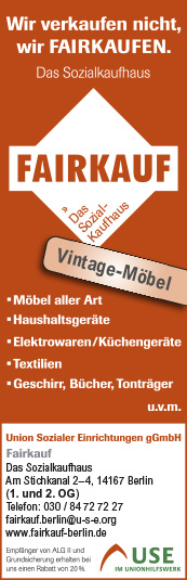 Gebrauchtwaren An Verkauf Secondhand Berlin Steglitz