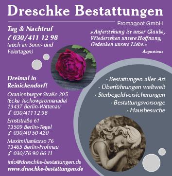 Bestattungen Berlin Reinickendorf Wegweiser Aktuell