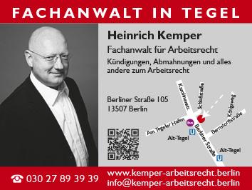 Rechtsanwälte Notare Patentanwälte Berlin Reinickendorf