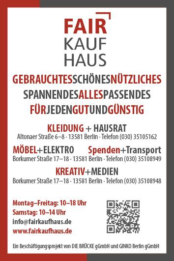 Gebrauchtwaren An Verkauf Secondhand Berlin Spandau Wegweiser