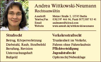 Rechtsanwälte Notare Patentanwälte Berlin Spandau Wegweiser Aktuell