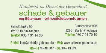 003859bdd58fa8 Einlagen und Schuhzurichtungen Berlin Steglitz - WEGWEISER aktuell