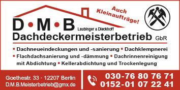 567d1ad5b5dee9 12207 Berlin Steglitz Lichterfelde. D.M.B Dachdeckermeisterbetrieb