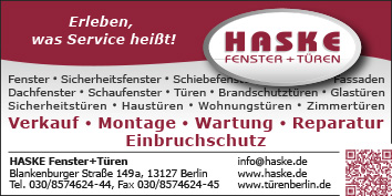 8fc3fb7cb70a10 Fenster und Türen Berlin Steglitz - WEGWEISER aktuell
