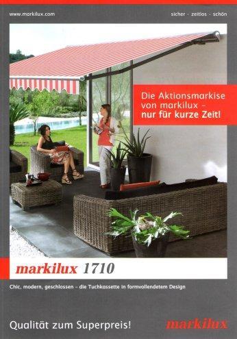 Markilux 1710 Markise Berlin Markilux Markisen Berlin