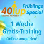 40up Frühlings Special